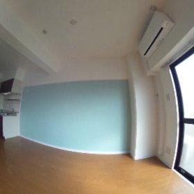 15畳リビングのパノラマ写真