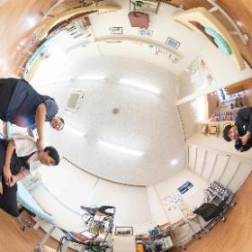 徳島県阿南市、牛岐の森整骨院様のウェブサイト撮影 #theta360