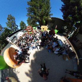 Google Code-in 2018 winners trip at Android Figurines in the Google Mountain View campus #theta360