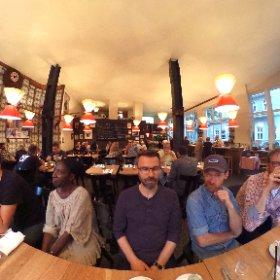 Great crowd at #affentreffen in Hamburg tonight :) #theta360de