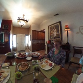Nice time with friends at The Manor #theta360
