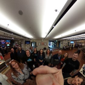 @RoyalAlbertHall grand tour. Hanging with the best.  #theta360