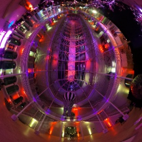 #360pic at National Museum of Scotland's #museumextravaganza in #edinburgh   Giant elephant part of the Blue Parrot Company's Dream Circus themed event.  #theta360 #theta360uk
