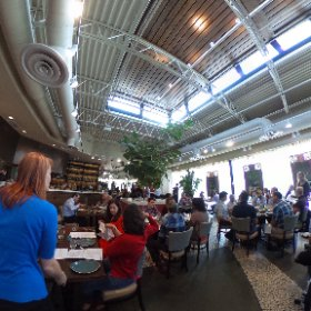Amazing lunch with @sashaeats at @rumiskitchen #sandysprings #theta360