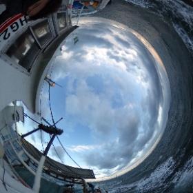 いかなご漁-網入れの様子 #大阪湾 #幸内水産 #いかなご