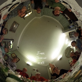 Happy Xmas #snowcrystal3d #theta360 #theta360uk