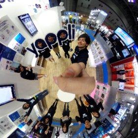 #リテールテック day2 スタート!  #yappli #ヤプリ #theta360