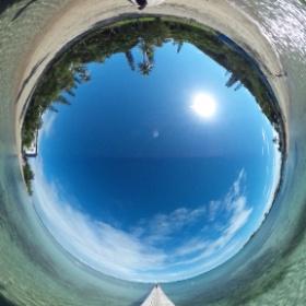 ニューカレドニア・グランドテール島 アンスバタ桟橋 #theta360