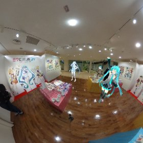39Culture@PARCO名古屋の会場です。 ひさしぶりの名古屋のイベントで嬉しい。 #39cultureキャンペーン #miku360  #theta360
