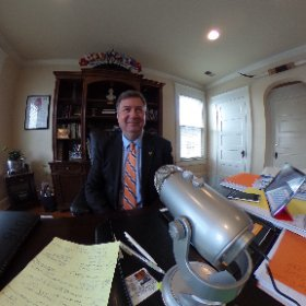 Virginia's favorite son, Governor and US Senator George Allen, sat down to talk football and politics today on Public Interest Podcast. Look for the episode to be released in the next two weeks #theta360