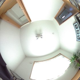 糸島の海が見える家:洋室1F