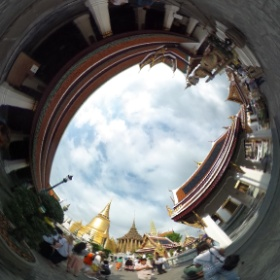 Bangkok the city of angles #theta360