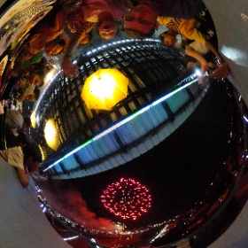 Art様「After dinner fireworks」 They were impressed #theta360