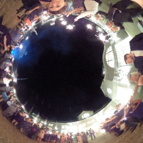 Neeley Baxter Wedding - Sparkler Sendoff #vawedding #trumpwinery #jpixx #theta360