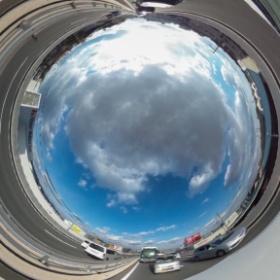 #RICOH #THETA #全天球写真 171号線渋滞中