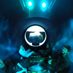 DMA Students under the sea in a submarine. #theta360