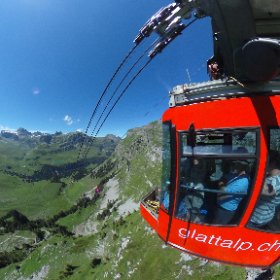 Glattalp-Bahn, Muotathal-Swiss #theta360 #theta360de