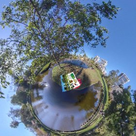360 spherical Queens Gardens in Perth city, from 1860 Botanical, lagoons, Bridges, Gazebo popular for weddings, SM hub https://linkfox.io/tjFIP BEST HASHTAGS  #QueensGardens  #EastPerthWA   #VisitPerthWA   #PerthAdventure   #Butterfly3d #theta360