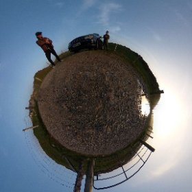 Sunset is always around somewhere | #Clifden360 under the #SkyRoad #2018 #friendship #thecraic #galway360 #UPJS2000 #PresovskaUniverzita #ChooseLife360 #theta360