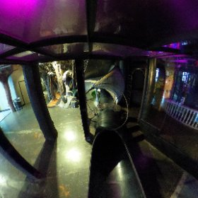 360 view above the 4th floor slide exit.