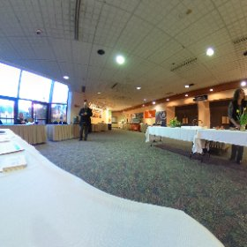 Innovation Summit 2017. Before the second day. Bring it on. Let's innovate Alaska. #theta360