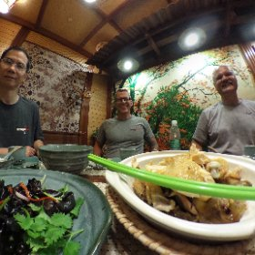 Dinner in China #theta360