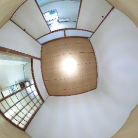 鹿児島市下荒田 2K 洋室から #鹿児島 #kagoshima #賃貸 #お部屋探し #エム管理不動産 #theta360