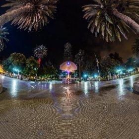 El Trébol, Plaza de Armas, Ovalle. IV Región de Chile.