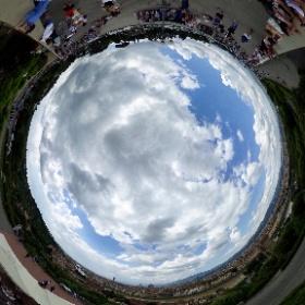 Blick über Florenz in 360° von der Piazzale Michelangelo #visitFlorence #theta360