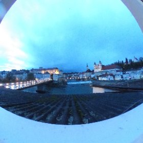 Travel 360 | Overlooking the old city of Steyr, Austria #theta360