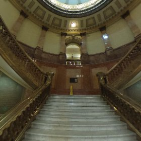 Photo du Grand escalier au Capitol à Denver / Colorado / USA #theta360