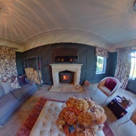 Design by Jo Bee, Interior Designer & Stylist. Stunning stylish lounge, Ilkley, West Yorkshire.  #interiordesign #interiors #lounge #beautifulhomes #theta360 #theta360uk