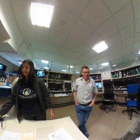 WHT control room with Chris Benn and Flori Jimenez Roque de los Muchachos ING La Palma #theta360