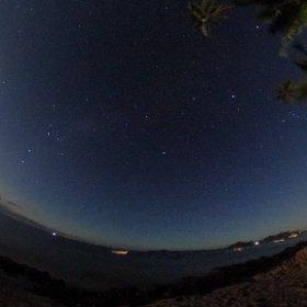 ヤサワ島 ナイト360ビュー #theta360