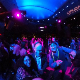 UploadVR party at CES 2017! #theta360