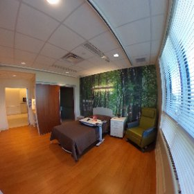 A full look at one of our subacute rooms. #theta360