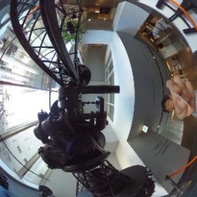 カールツァイスIV型プラネタリウムでシータ。渋谷〜