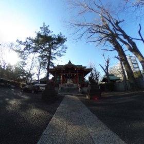 馬込八幡神社。 #theta360