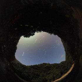 星空とホタル(錦町)20sec x30 コンポジット合成 ISO400 http://laboknoby.com/jp/ #theta360