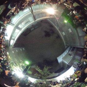 第14回 さんまの会 @東京藝術大学 学長と乾杯でシータ #theta360