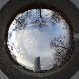 Post Tower in Bonn #theta360 #theta360de