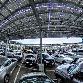 Solar Powered Parking #theta360