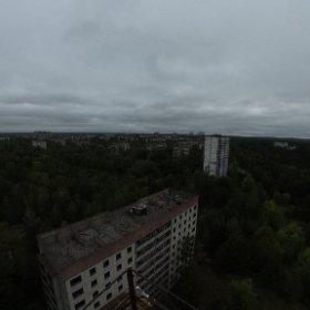 Chernobyl skyline  #theta360 #theta360it
