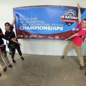 2017 #IndoorNationals #USAArchery Hamilton, Ohio #360photo  #theta360