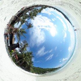 360° view of Haad Rin beach on Koh Phangan (หาดริ้น)