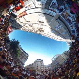 procession de #Ganesh.  #Paris #theta360