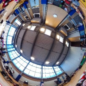 Winter Fayre at Hove Junior School, Sat 12 Dec 2015 #theta360