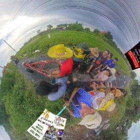 360 spherical Tractor tour on Thai farm Pathum Tanni https://goo.gl/vmVHKw  BEST HASHTAGS  #FarmTourPhatumTanni #TractorTour  Optional  #BkkFamilyFun #BkkAchiever #BpacApproved #BeHappy #butterfly3d #theta360 #theta360
