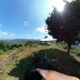 登美志山(471m/広島県三次市吉舎町)に登ってみた #theta360