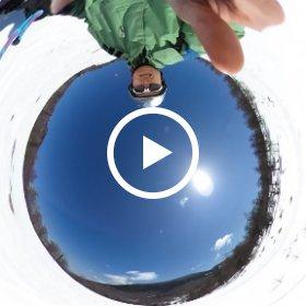 Asama ski #1 #theta360